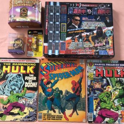 DCK021 Harry Potter, Marvel & DC Comics and Japanese TV Show Board Game