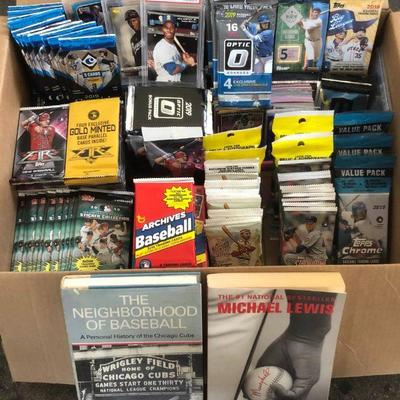 DCK008 Unopened 2019 Baseball Card Packs, Graded and Loose Cards