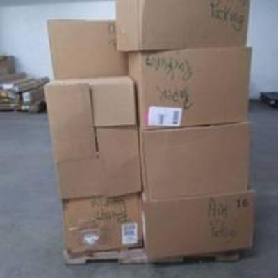 Box's of packing material