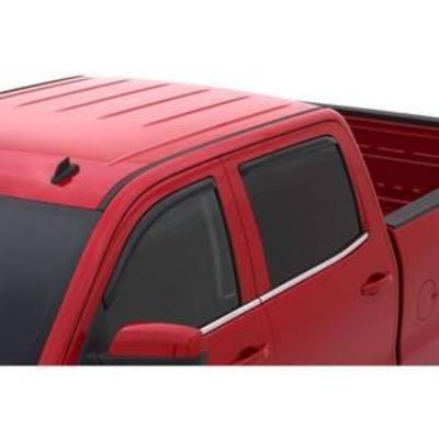 Auto Ventshade 194536 In-Channel Ventvisor Window Deflector, 4 Piece for 2014-15 Chevy Silverado & GMC Sierra 150025003500 Crew Cab...