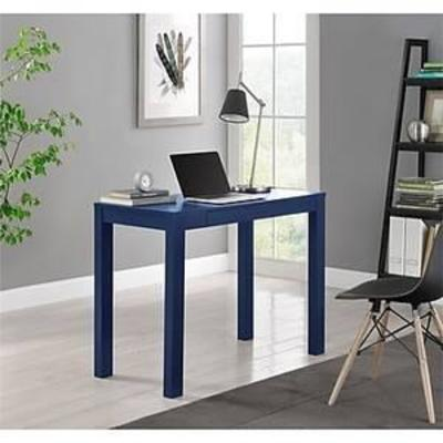 Ameriwood Home Parson Desk with Drawer, Navy