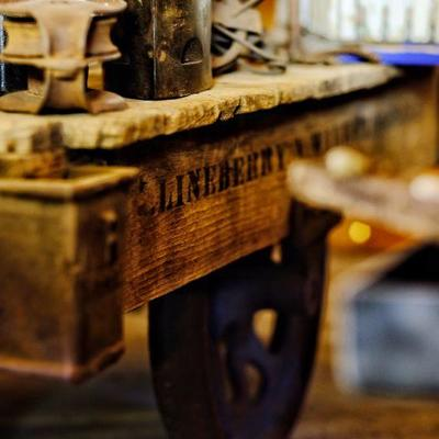 Lineberry cart - photograph by Cari