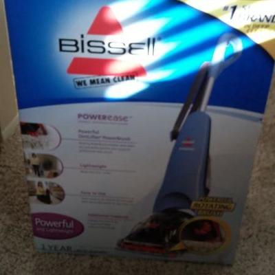 New in the box Bissell vacuum cleaner