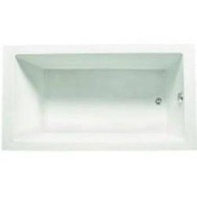 AF Supply C6032TW Zuma Bath Tub in White NOT INSPECTED OUTSIDE OF BOX