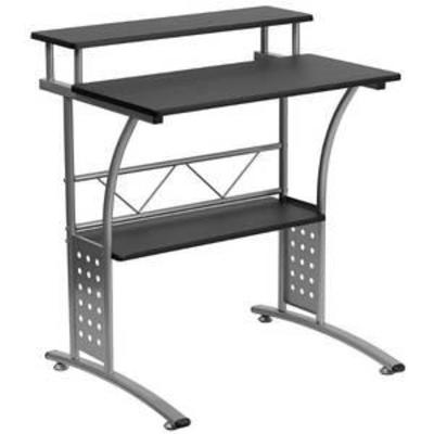 Clifton Black Computer Desk - Flash Furniture