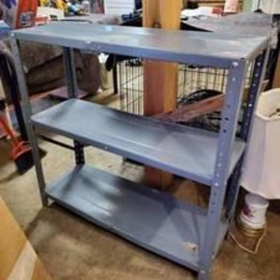 3 Tier Metal Work Shelf