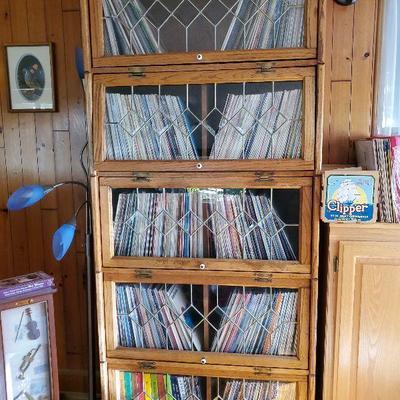 portion of vinyl albums