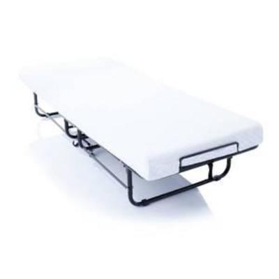 4 in. Rollaway Twin XL Size Guest Bed with Memory Foam Mattress