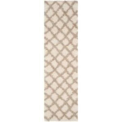 2'3X6' Geometric Loomed Runner IvoryBeige - Safavieh, Adult Unisex