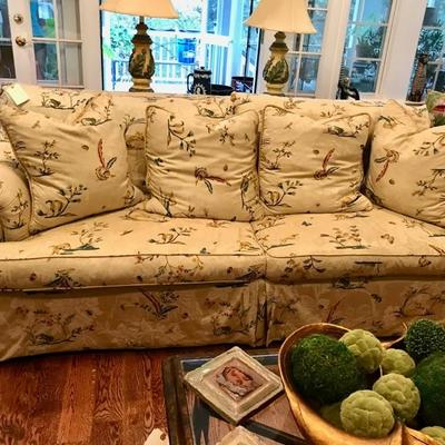 TRS down filled sofa $995