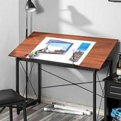 48 Drawing Table - Black