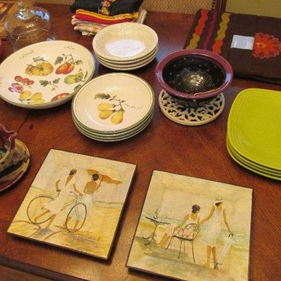Williams Sonoma and pottery barn kitchenware