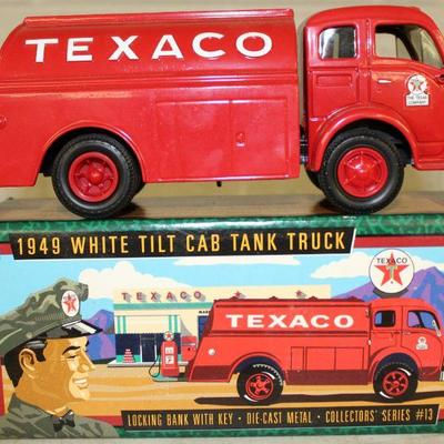 TEXACO TRUCK WITH BOX