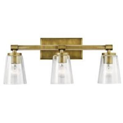 Kichler Audrea 3 Light 23-34 Wide Bathroom Vanity Light