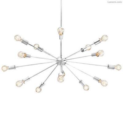 Justice Design Group Axion 15 Light 42 Wide Sputnik Chandelier