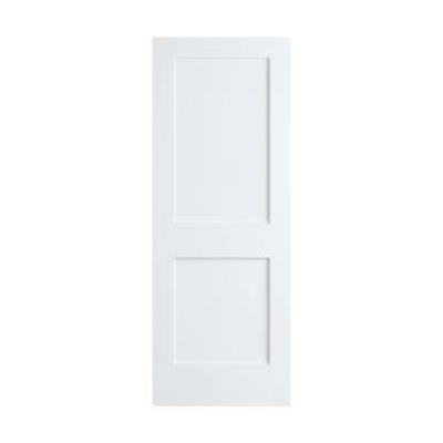 Frameport Shaker 24 Inch by 80 Inch Flat 2 Panel Interior Slab Passage Door