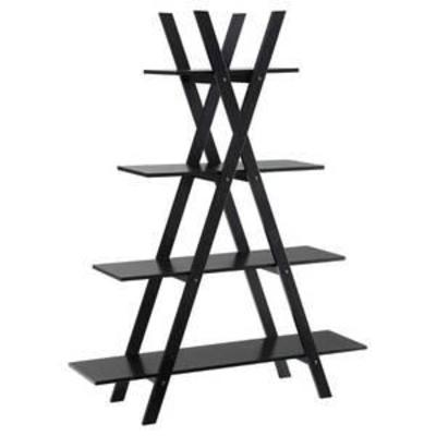 59 Oxford A Frame Bookshelf Black - Johar Furniture