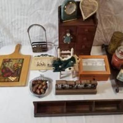 Home decor (Wooden Jewelry Box , Photo Memory Box , Wooden Oven Pizza Padle, Ligh Up Wooden Peace Decor and More)