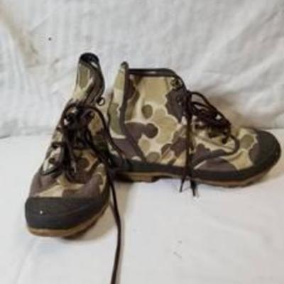 Hodgeman Cammo Boots Size 7