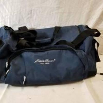Eddie Bauer Navy Blue Traveling Bag With Wheels