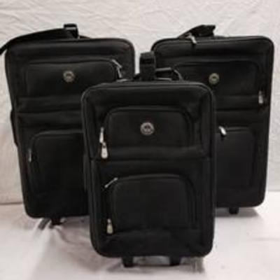 American Weekend Suitcases 2 Large 1 Carry On
