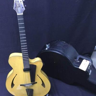 GGG016 Eastman Pagelli Guitar & Hard Case