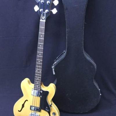 GGG003 Epiphone Rivoli Reissue Guitar & Gig Bag