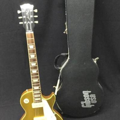 GGG012 Gibson Les Paul Gold Top with P-90 Pickups
