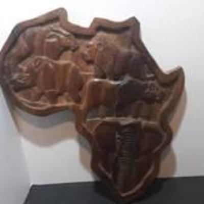 African Wood Animal Carving