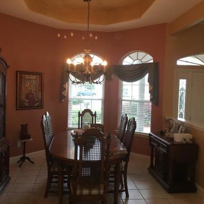 complete dining room set
