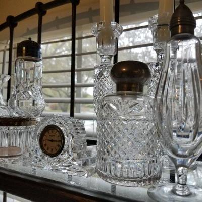 Waterford crystal pieces, part 2