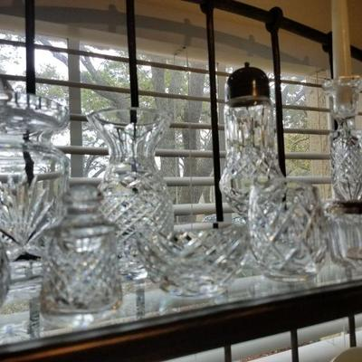 Waterford crystal pieces