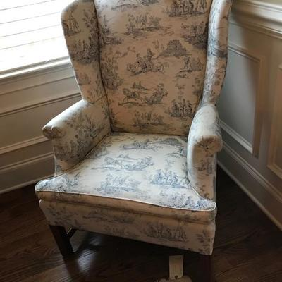 Wing back chair $95