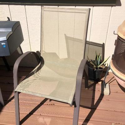 Patio chair $25 each