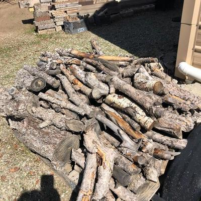 Pile of burning wood $80 you load
