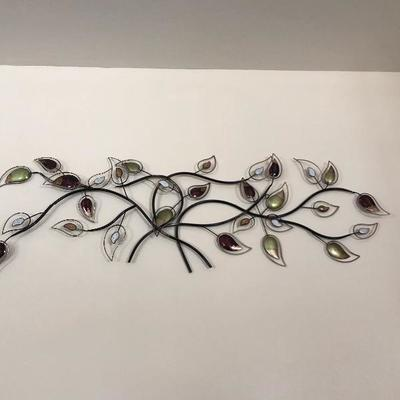 Metal wall art $25