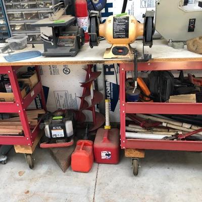 Red tool carts $45 each