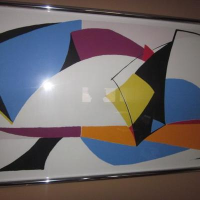 Tons of Abstract Vintage Art