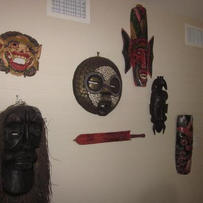 African Mask Collection
