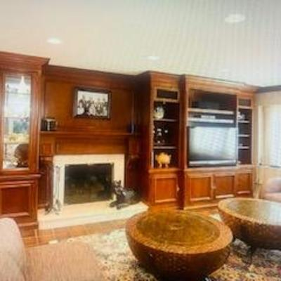Custom Living Room Suite