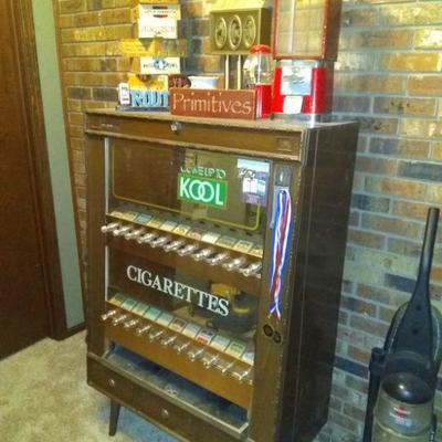 1960's Cigarette Vending machine