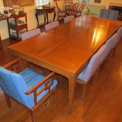 Mid century Baker dining table