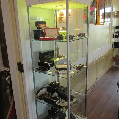 Hundreds of luxury eye wear items