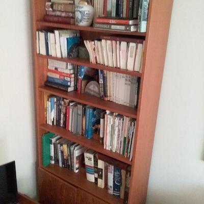 Bookcase with Three Shelves and Bottom Cabinet #1