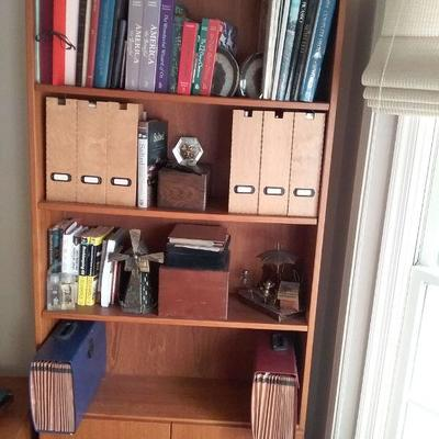 Bookcase with Three Shelves and Bottom Cabinet #2