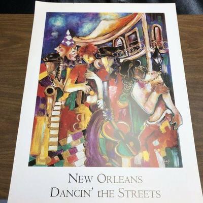 https://www.ebay.com/itm/124082605705 LAN758: NEW ORLEANS DANCIN' tHE STREETS by Jeni Genter Nattie Noodle