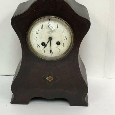 https://www.ebay.com/itm/114152307920 LAN582: Skinner London Wood Case Mantel Clock Local Pickup