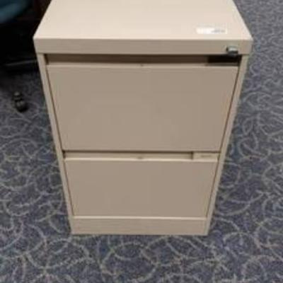2 Drawer Steelcase File Drawer