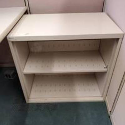 2 Shelf Steelcase Bookshelf
