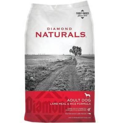 Diamond Naturals Dry Food for Adult Dogs, Lamb and Rice Formula,